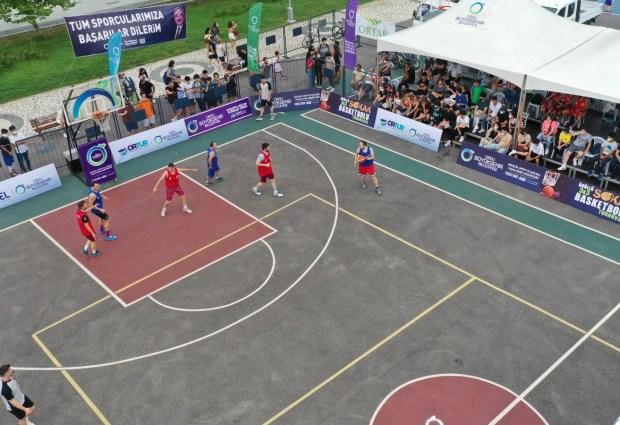 Sokak Basketbol Turnuvası Sona Erdi