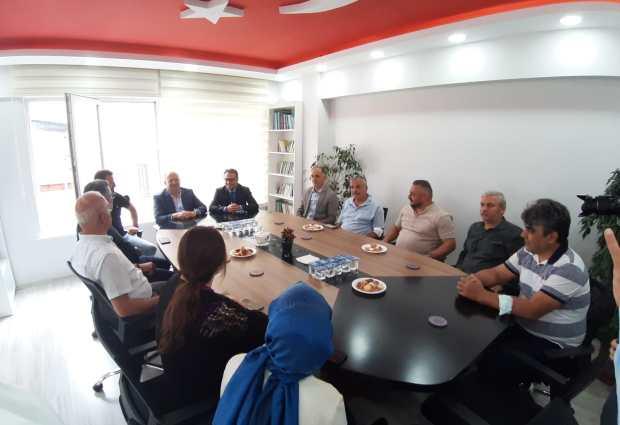 Başkan Tavlı'dan MHP Ünye Teşkilatına Ziyaret…