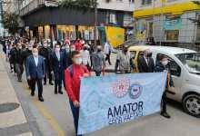 Amatör Spor Haftası Yürüyüşle Başladı
