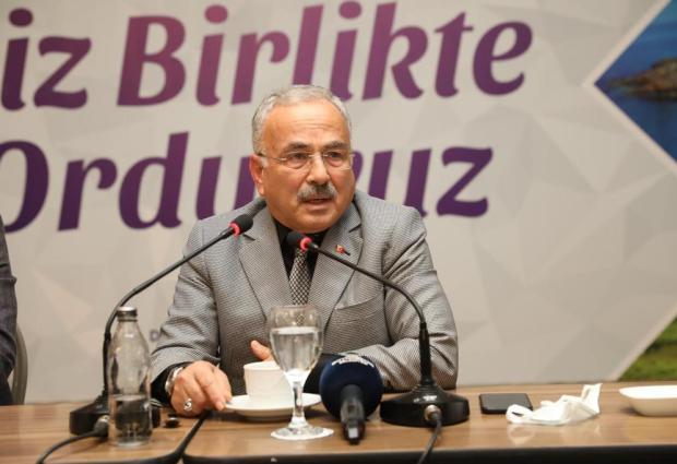 """Başkan Güler: """"Ordu'yu Geleceğe Hazırlıyoruz"""""""