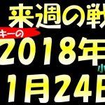 FX スノーキー(小手川征也)の来週の戦略 2018年11月24日