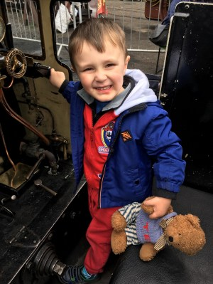 At Bluebell Railway