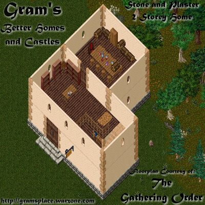 UO Stratics  Better Homes and Castles  2 Storey Stone