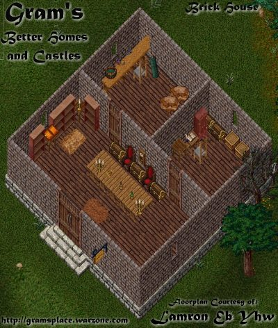 UO Stratics  Better Homes and Castles  Large Brick House