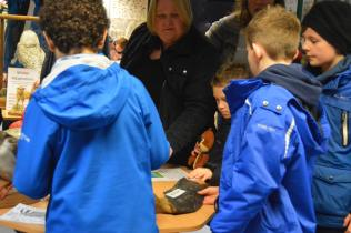 Getting hands on in Aberdeen Biodiversity Centre