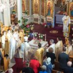 Pascha, St. Demetrius' Sobor, 2014. Photograph by Robert Rutkay.