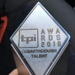 TPi Breakthrough Talent award for Derby grad!