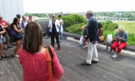clinton library rooftop garden.may1405