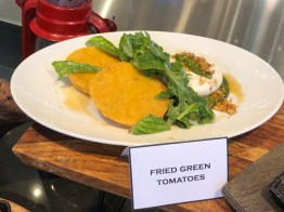 Fried Green Tomatoes - $9.00