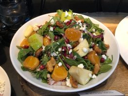 Baby Beets & Goat Cheese( GF, V) - $20.00