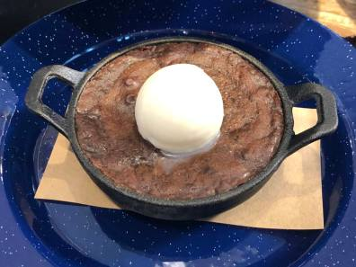 Skillet Baked Chocolate Cake - $9.00