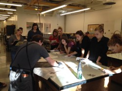 Intaglio/Relief demonstrations