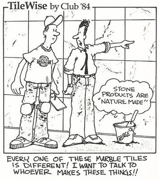 Variations in Natural Stone