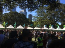 New Years Day at Field Day in the Domain