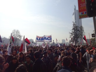 marching for higher education reform
