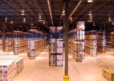 Aisle Designs for Unit-Load Warehouses