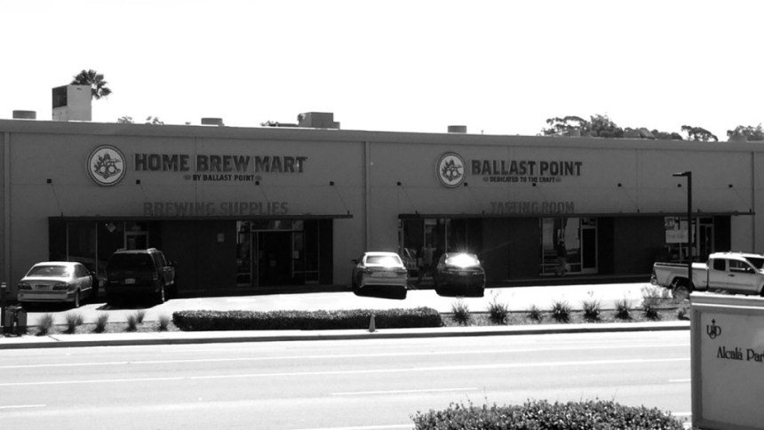 Ballast Point Home brew mart and tasting room on Linda Vista Rd. Diego Luna/The USD Vista