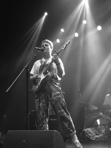 Photo Courtesy of Matthew Fairorth Mac DeMarco showcased his personal style on stage.