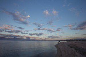 The Salton Sea is a unique and beautiful landscape.