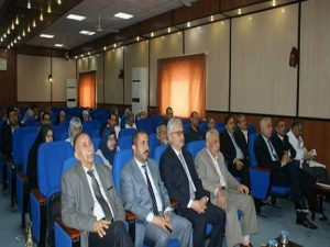 A scientific symposium at University of Kerbala to discuss the therapeutic developments of the diseases of pressure and Fibrillation