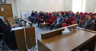 """A seminar on """"The evaluation of the reuse of sewage for irrigation"""" was held at the Faculty of Engineering"""