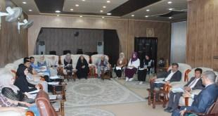 جامعة الكوفة  تعقد حلقة نقاش بعنوان  الكتابة الابداعية
