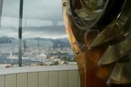 Faro del Montorsoli. lenti Fresnel e ottone per il rivestimento. (Photo credit: Tanino Cardillo)