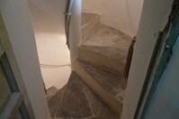 I 127 gradini in pietra che portano in cima alla torre (Photo credit: Grace Macrì)