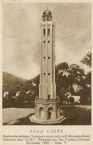 Faro Voltiano (Photo credit: wikipedia)