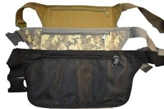 Armi torbica oko struka zadnja strana .