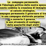 Una campagna elettorale permanente