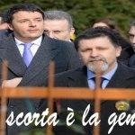 Renzi contestato ovunque mette piede, ma i Tg censurano
