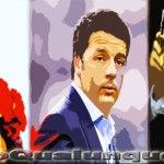Craxi, Berlusconi, Renzi. Tre autori del disastro