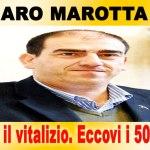 L'onesto del giorno: Marotta (Idv) rinuncia a 517.872 euro di vitalizio