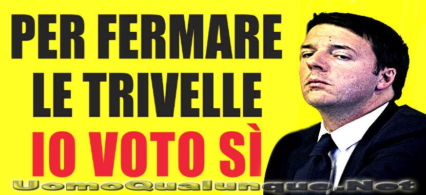 Renzi-referendum trivelle