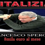 Il Vitaliziato: Francesco Enrico Speroni 8mila euro al mese