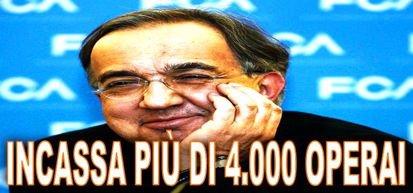 Sergio Marchionne-stipendio