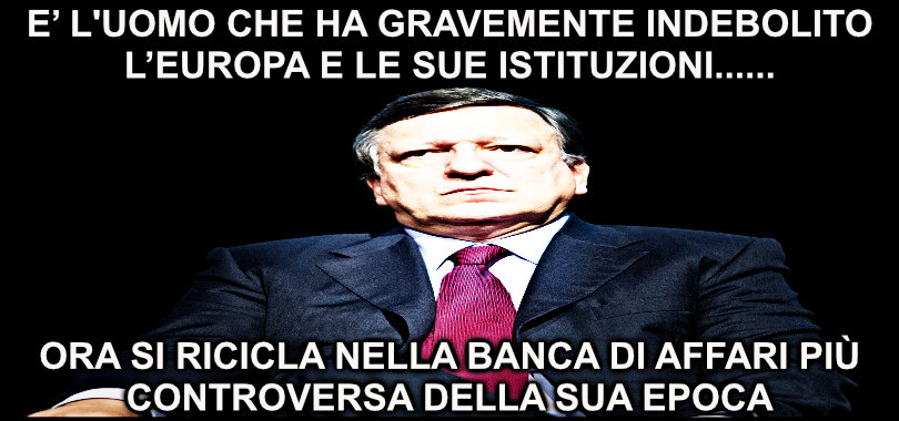 Goldman Sachs -Barroso
