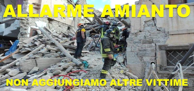 amianto-vigili-del-fuoco-terremoto
