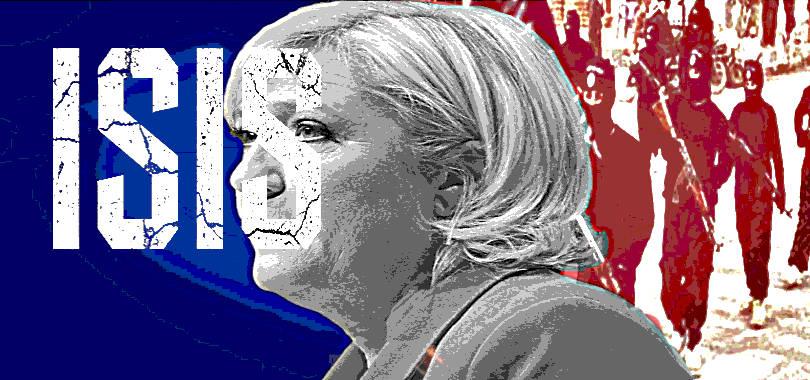 L'Isis vota Marine Le Pen