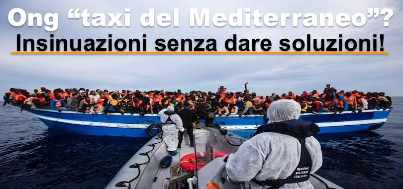 salvataggi migranti in mare