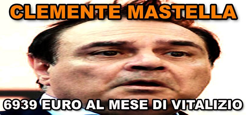 il vitalizio di Clemente Mastella