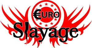 The EuroSlayage logo, designed by Northampton's Mike Starr