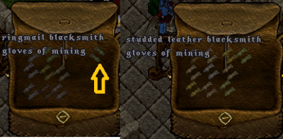ringmail and studded mining