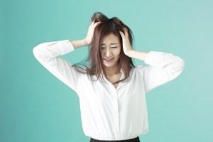 髪の毛の静電気を抑える