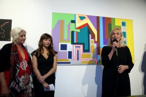 Da sx Enrica Antonioni, Francesca Anfosso, Sabrina Alfonsi