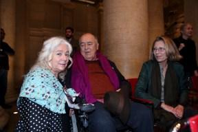 Enrica Antonioni, Bernaldo Bertolucci e Claire Peploe