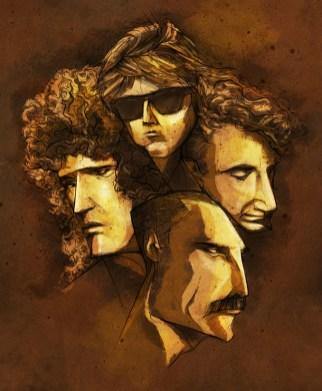 Freddie Mercury Queen Golpeavisa