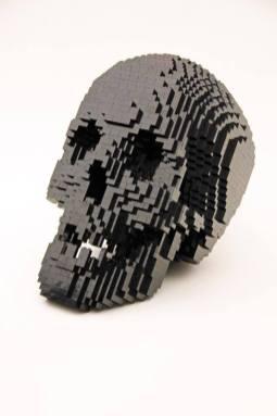 Spooky. 3500 Black Bricks