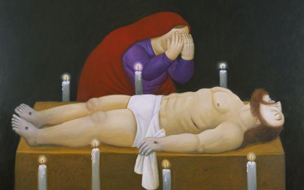 la ''Via Crucis'' di Botero 6